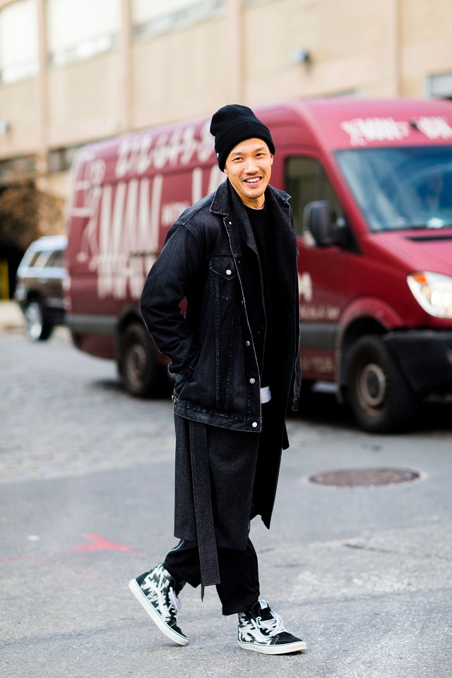 New York Men S Fashion Week Fall 2017 Street Style