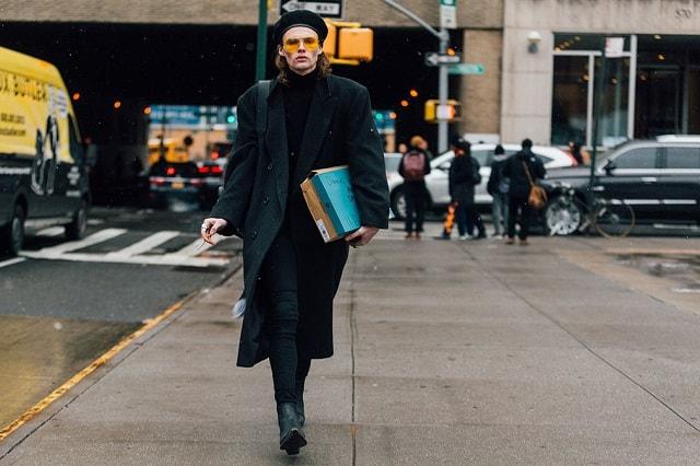 New York Men S Fashion Week Fall 2017 Street Style