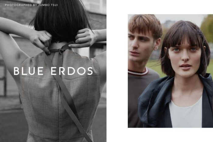 Sam Rollinson and Ben Allen By Jumbo Tsui For Blue Erdos SS 2017 Ad Campaign