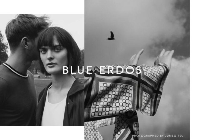 Sam Rollinson and Ben Allen By Jumbo Tsui For Blue Erdos Spring-Summer 2017 Ad Campaign