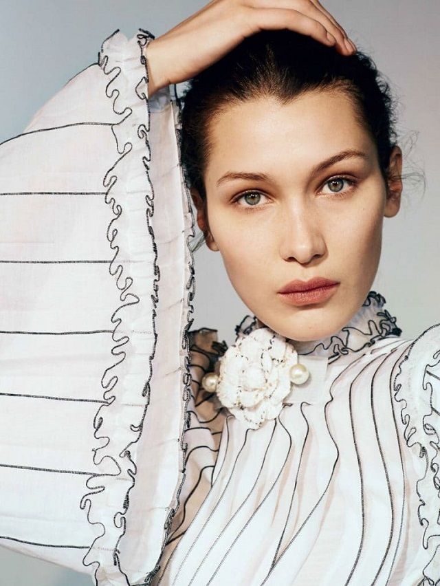 Bella Hadid by Collier Schorr for Vogue China April 2017