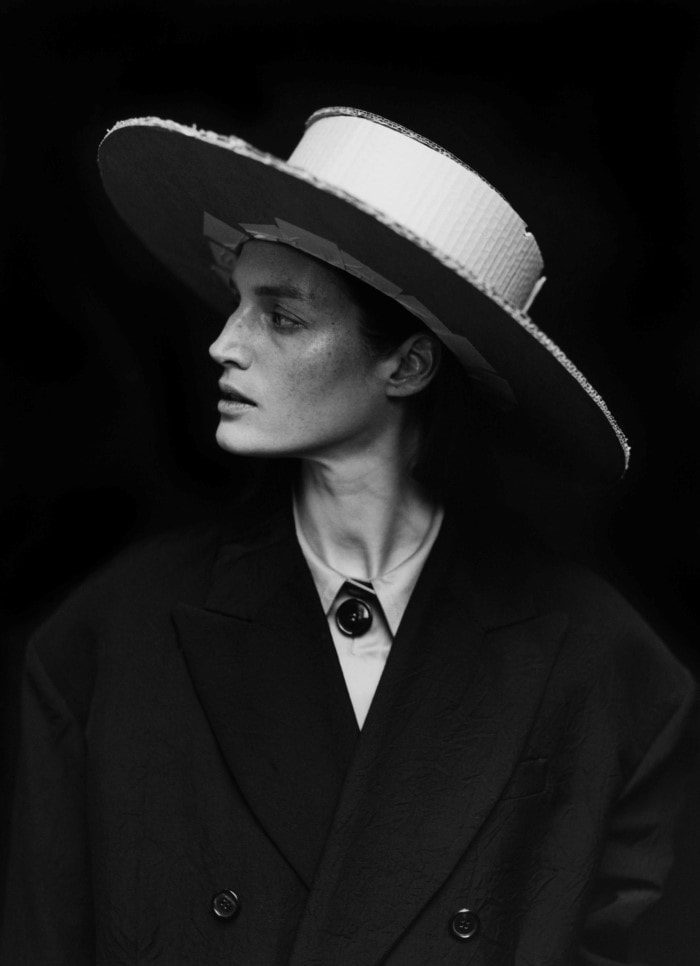 Vivien Solari By Jack Davison For Vogue UK April 2017