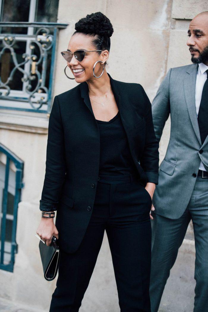 Alicia Keys Street Style