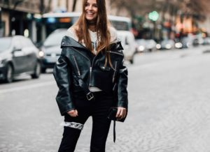 Paris Fashion Week Fall 2017 Street Style