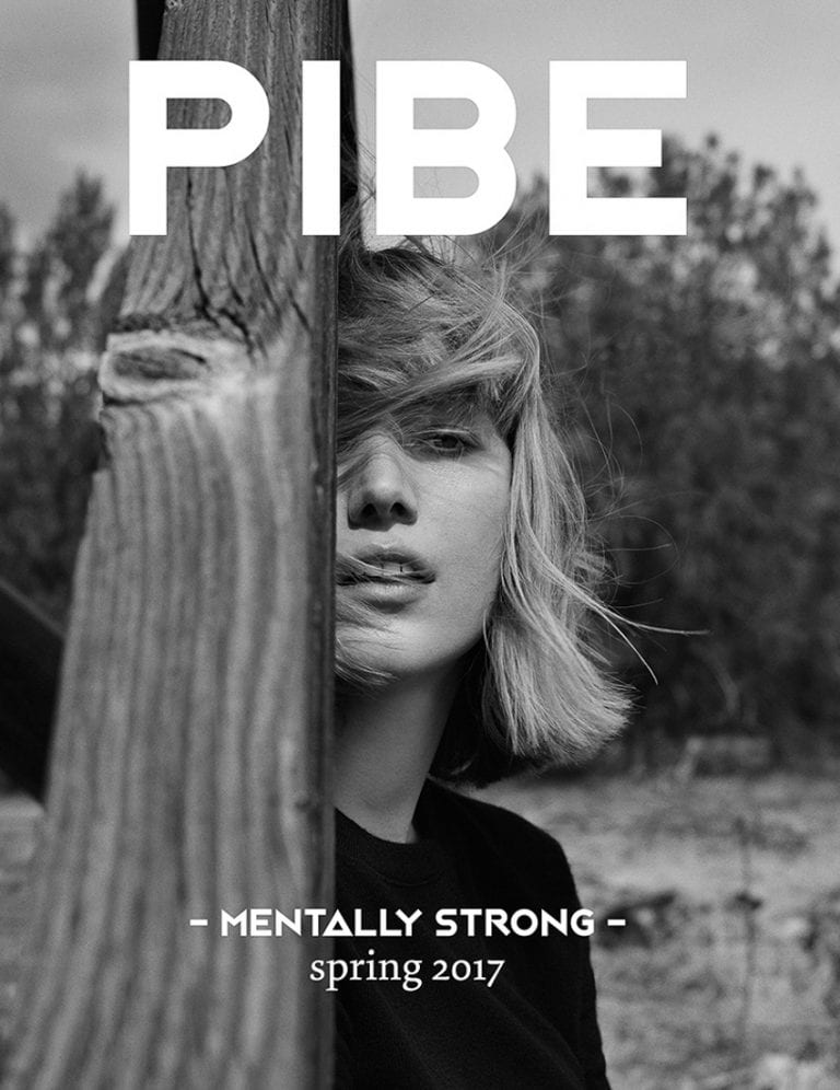 Lou Schoof Covers PIBE Magazine Spring 2017