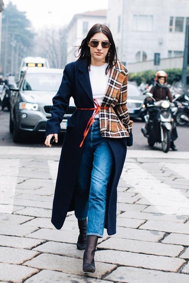 Milan Fashion Week Fall 2017 Street Style Minimal Visual