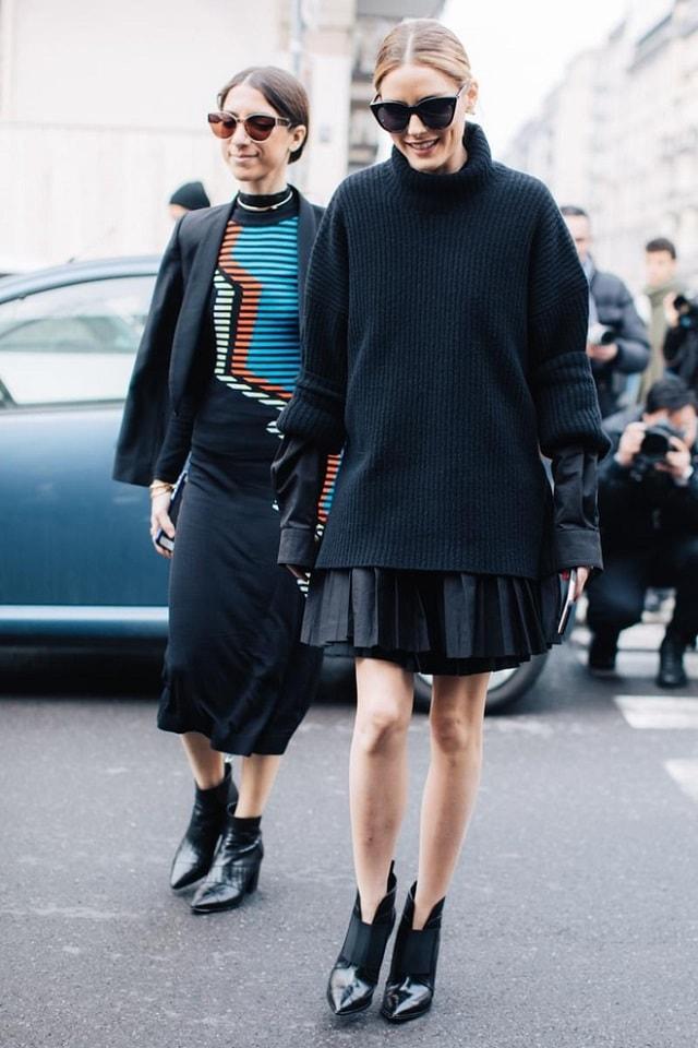 Milan fashion week fall 2017 street style minimal visual - Style automne 2017 ...