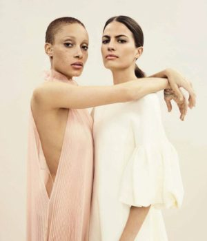 Adwoa Aboah & Cameron Russell By Emma Summerton For Vogue Spain