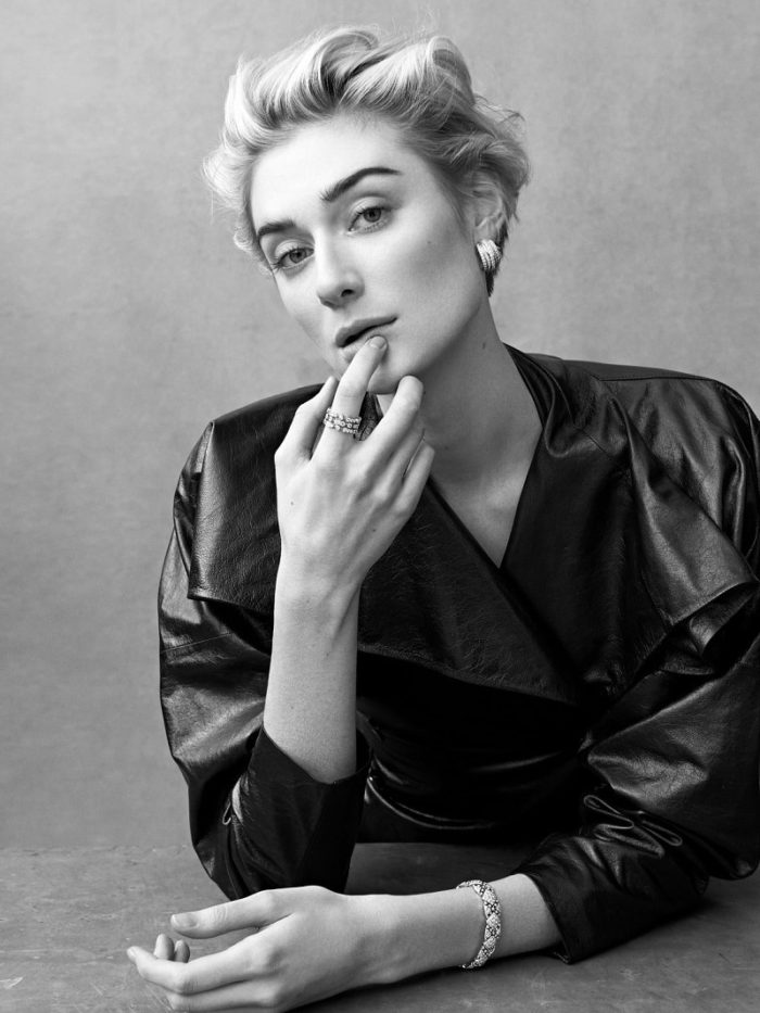 Elizabeth Debicki By Bjorn Iooss For Porter Summer 2017