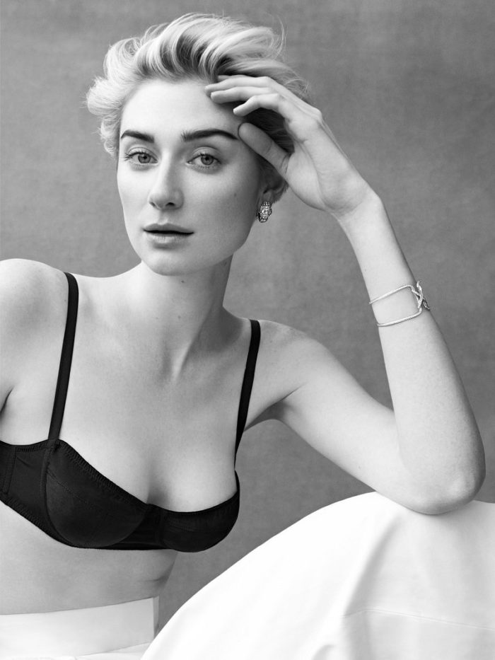 Elizabeth Debicki By Bjorn Iooss For Porter Magazine Summer 2017