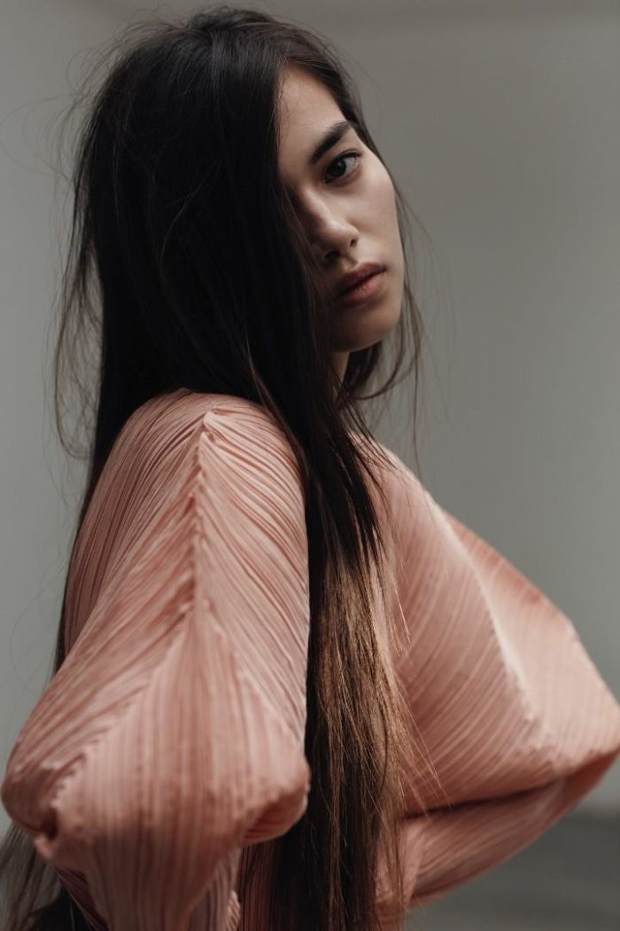 Melissa Anderson by Lydia Gorges - Jil Sander Dress