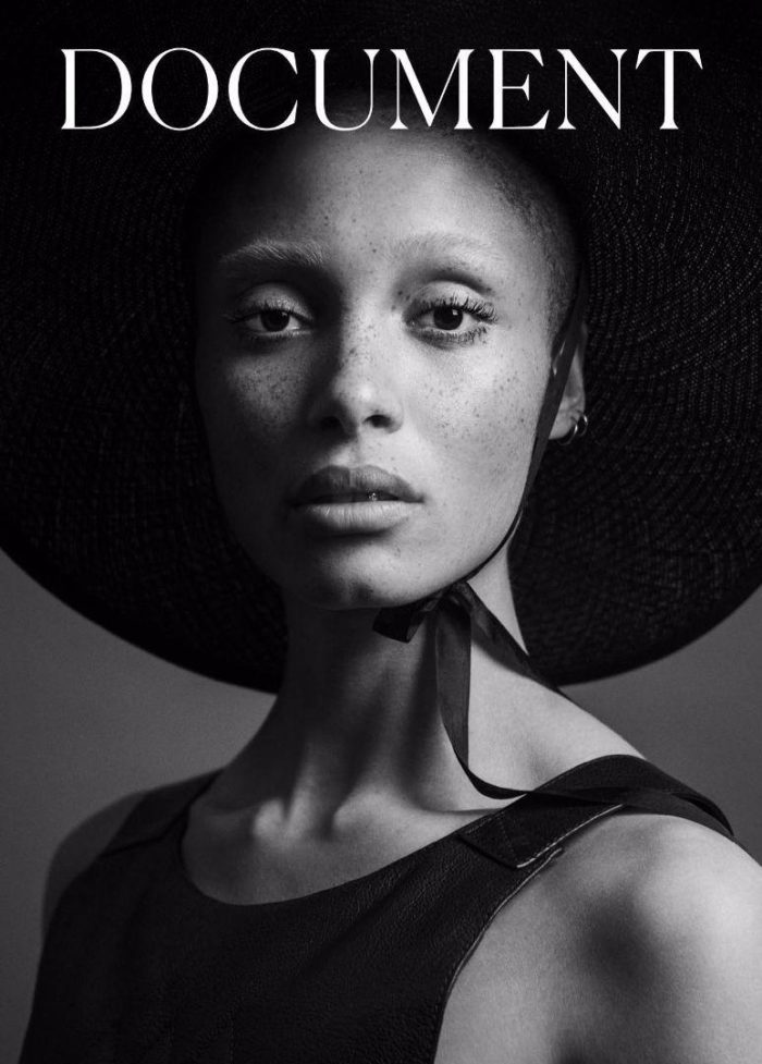 Adwoa Aboah Inez and Vinoodh Document Journal Spring-Summer 2017 Cover
