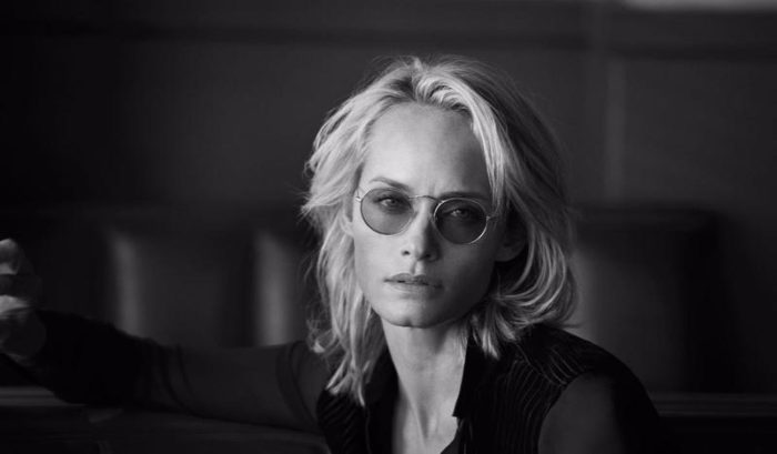 Amber Valletta Peter Lindbergh Oliver Peoples Spring-Summer 2017 Ad Campaign