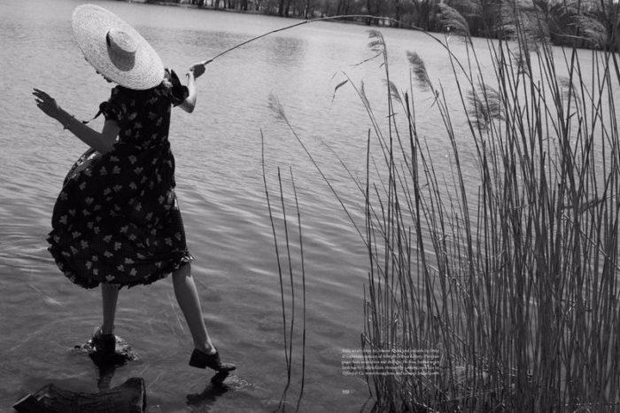 Aida Blue & Jordan Legessa By Will Davidson For Unconditional Magazine Spring-Summer 2017
