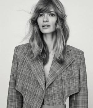 Julia Stegner By Alexandra Nataf For Unconditional Magazine Spring-Summer 2017