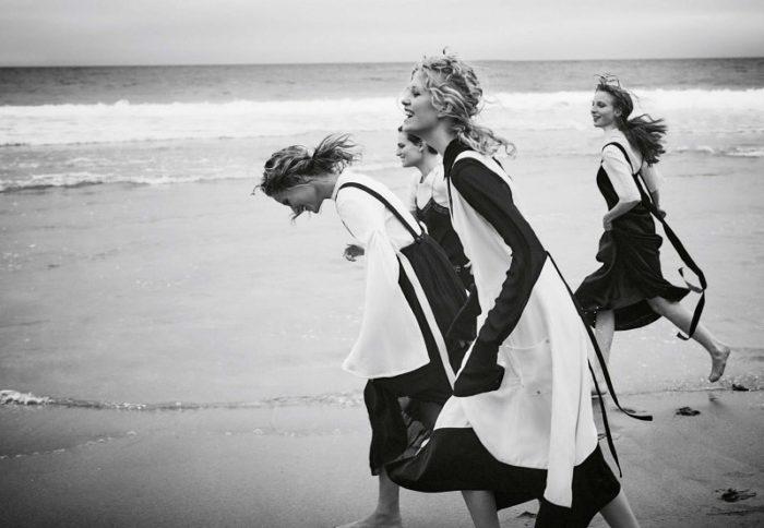 Karoline Egelund, Johanna Robin, Sarah Polano, Hirshy Grace By Georges Antoni For Marie Claire Magazine Australia May 2017