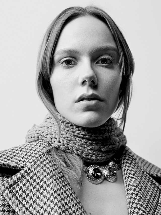 Kiki Willems By Willy Vanderperre For Prada Fall-Winter 2017-2018 Ad Campaign