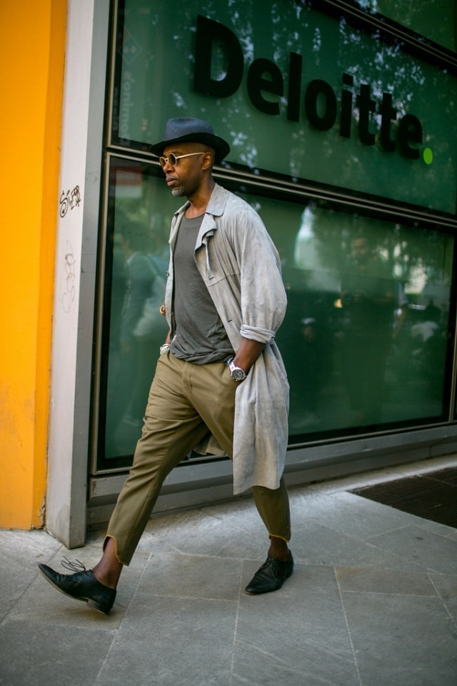 Milan Men S Fashion Week Spring 2018 Street Style