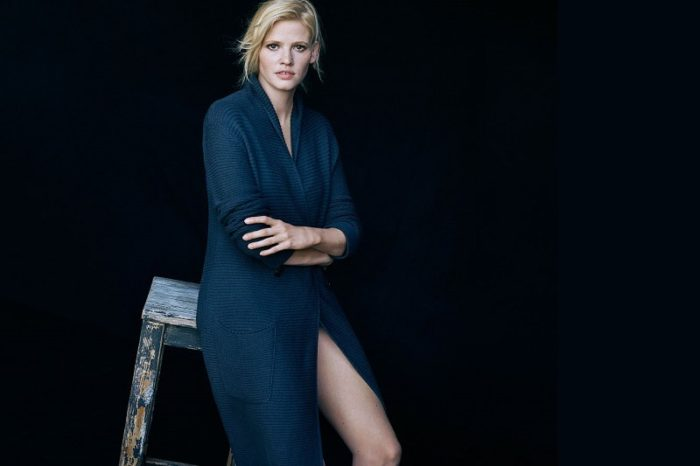 Lara Stone By Peter Lindbergh For Marc O'Polo Spring-Summer 2017 Ad Campaign