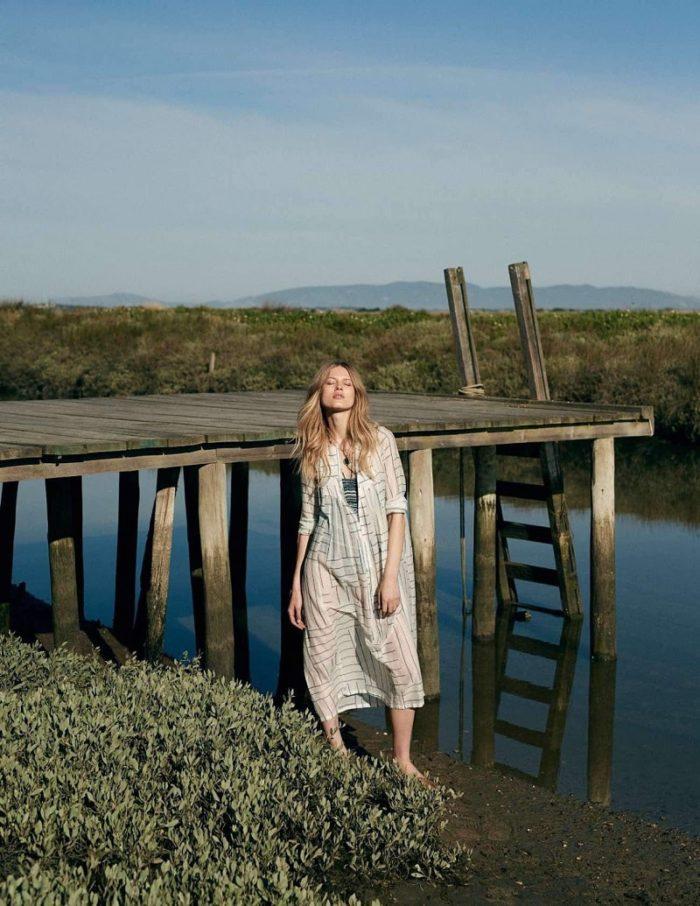 Laura Julie By David Cohen de Lara For Elle France June 2017