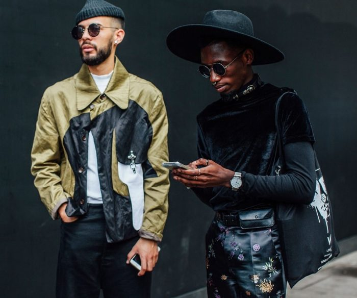 London Men's Fashion Week Spring 2018 Street Style