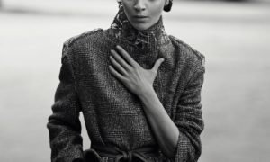 Mariacarla Boscono For Ermanno Scervino Fall-Winter 2017 Ad Campaign