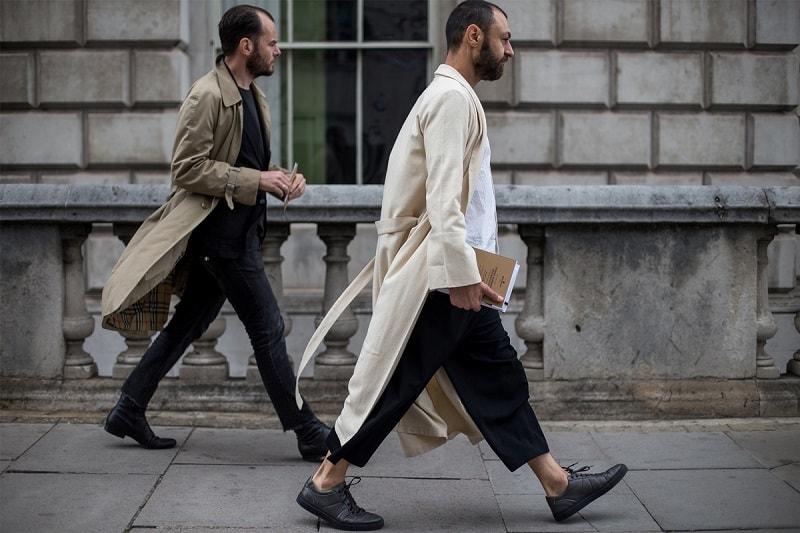 London Men S Fashion Week Spring 2018 Street Style Minimal Visual