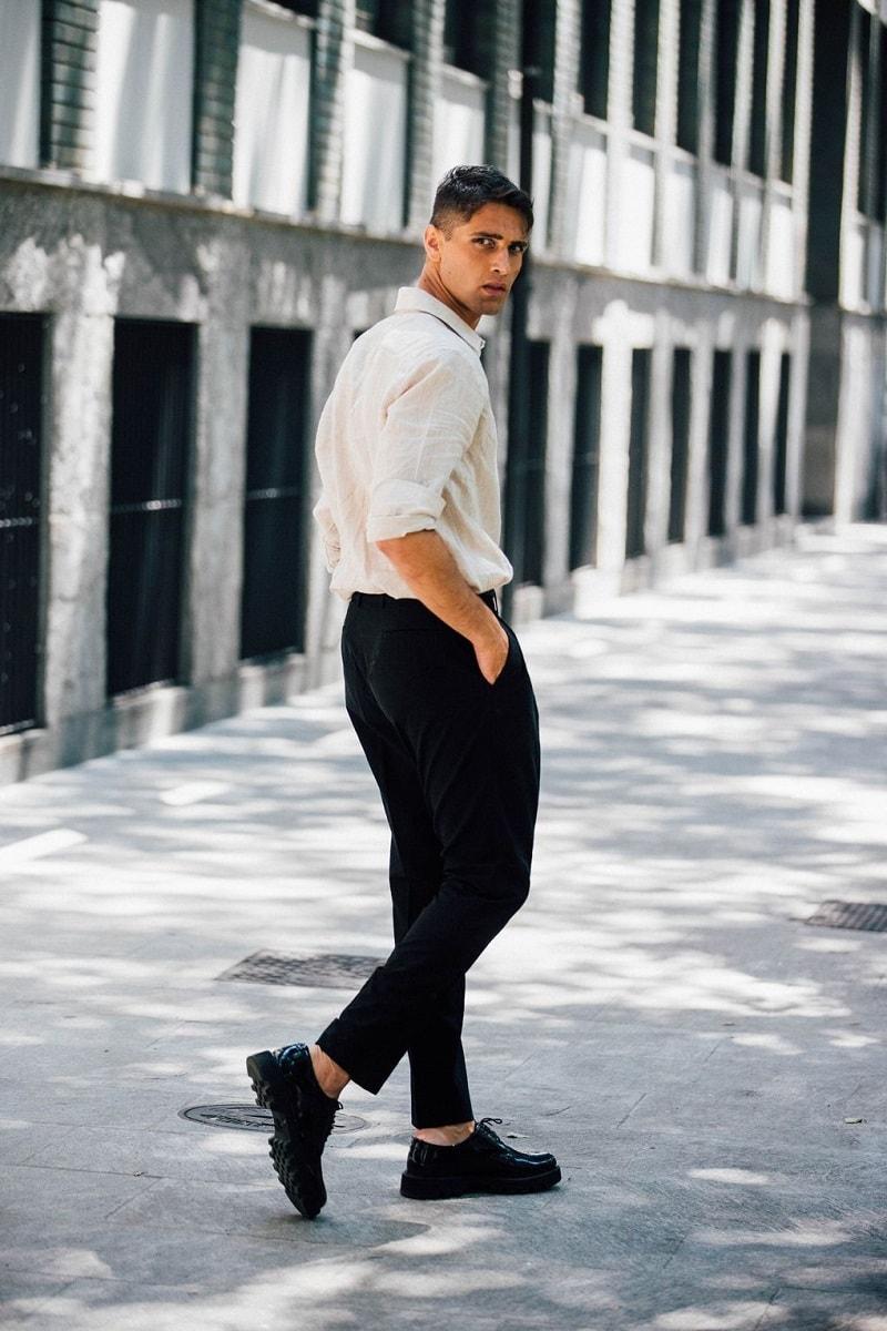 Milan Menu2019s Fashion Week Spring 2018 Street Style - Minimal. / Visual.