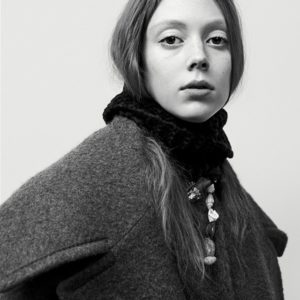 Natalie Westling Willy Vanderperre Prada Fall-Winter 2017-2018 Ad Campaign