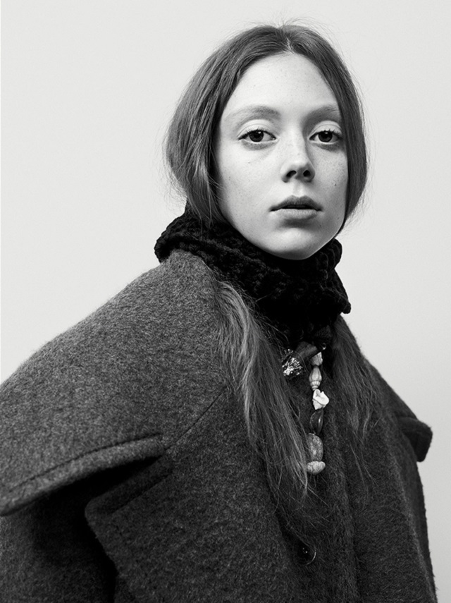 Natalie Westling Willy Vanderperre Prada Fall-Winter 2017-2018 Ad Campaign