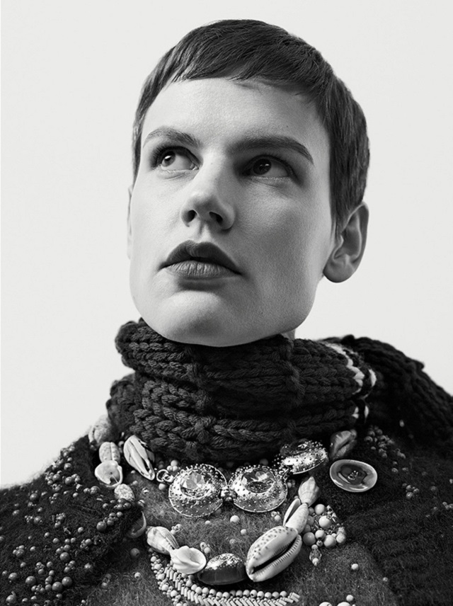 Saskia de Brauw By Willy Vanderperre For Prada Fall-Winter 2017 Ad Campaign