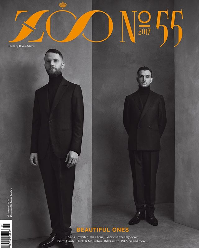 Theo Hutchcraft and Adam Hurts by Bryan Adams for Zoo Magazine Summer 2017