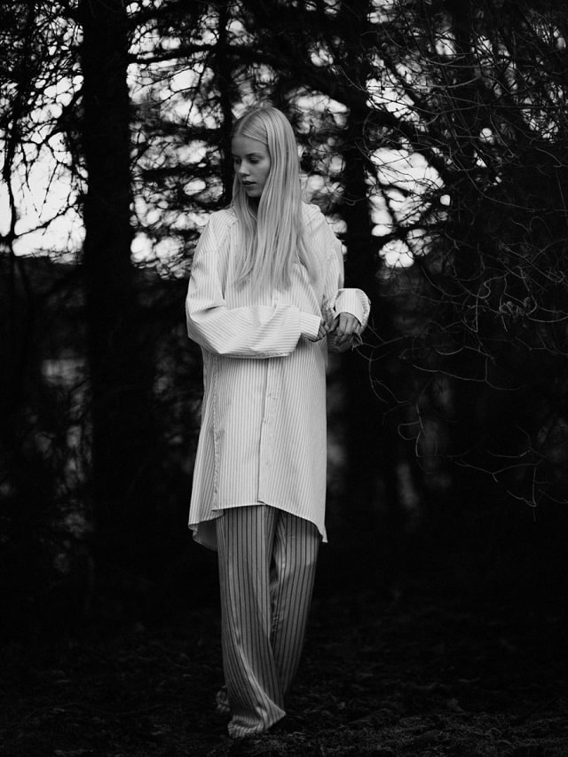 Amalie Schmidt By Keiichiro Nakajima For Monrowe Magazine Norwegian Wood