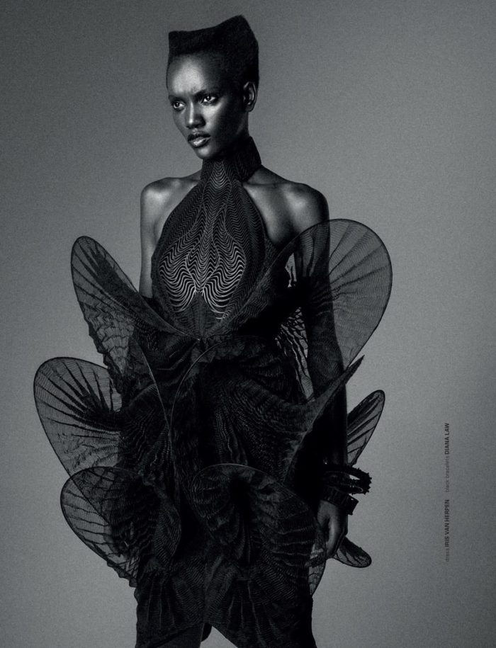 Iris van Herpen Mimicry Dress
