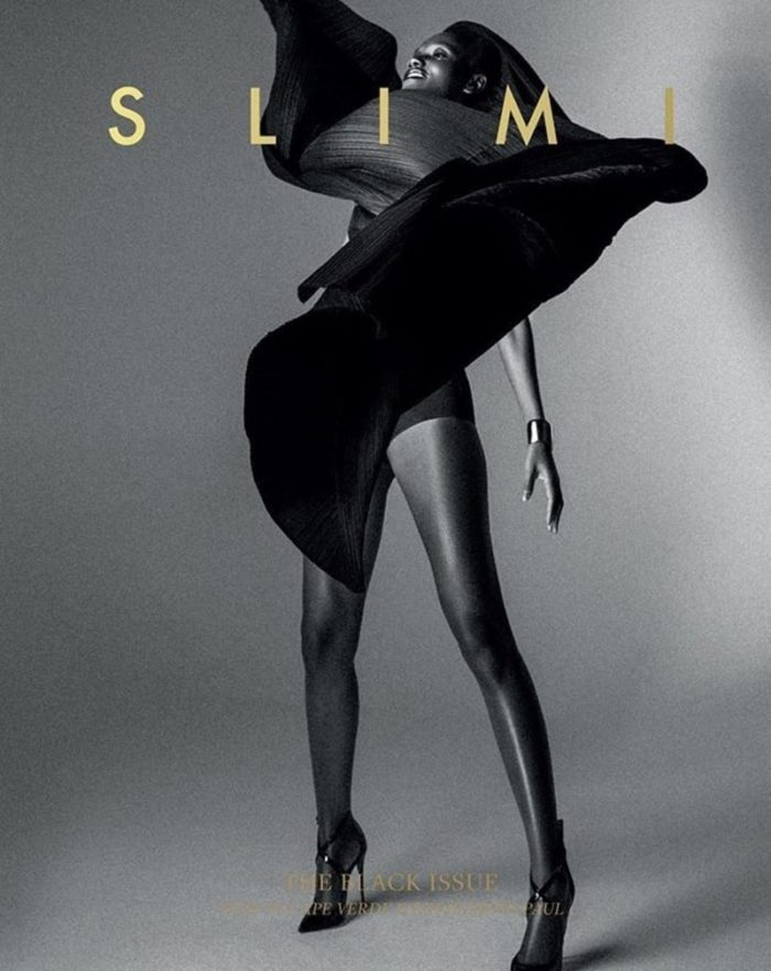Herieth Paul Covers Slimi Magazine Summer 2017 - The Black Issue