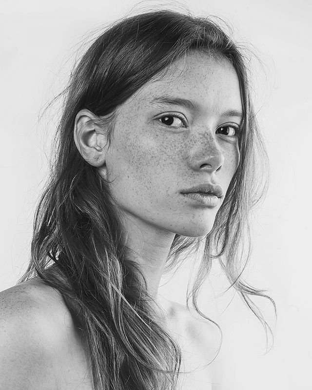 Julia Hafstrom By Chadwick Tyler Black and White Portraits