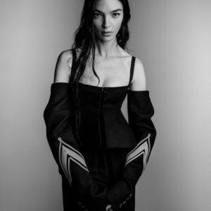 Mariacarla Boscono By Patrick Demarchelier For Vera Wang Fall-Winter 2017 Ad Campaign
