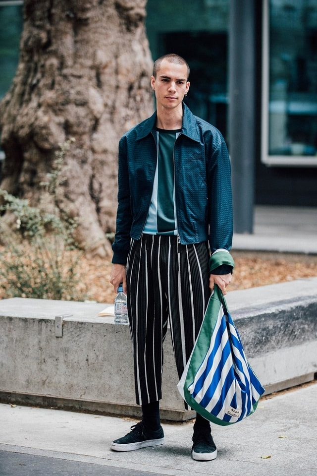 Paris Men S Fashion Week Spring 2018 Street Style Minimal Visual