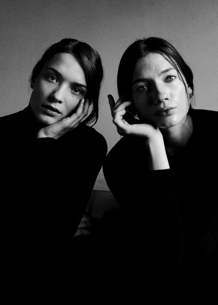 Oda Nordengen and Kristin Zakala By Lucas Cristino For Monrowe Magazine