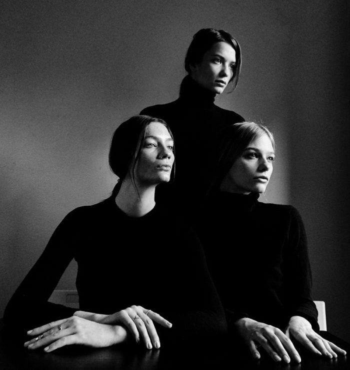 Sanna Backstrom, Oda Nordengen and Kristin Zakala By Lucas Cristino For Monrowe Magazine