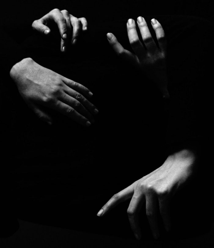 black and white hands photography