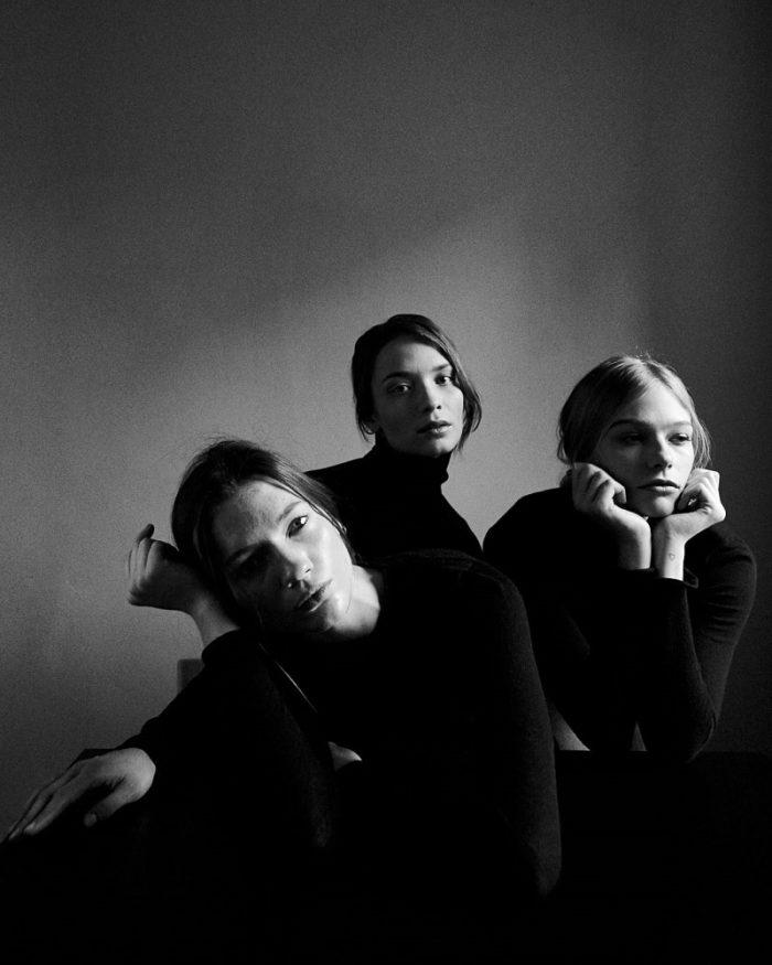 Sanna Backstrom, Oda Nordengen and Kristin Zakala For Monrowe Magazine