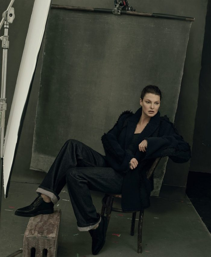 Linda Evangelista by Annie Leibovitz For American Vogue September 2017