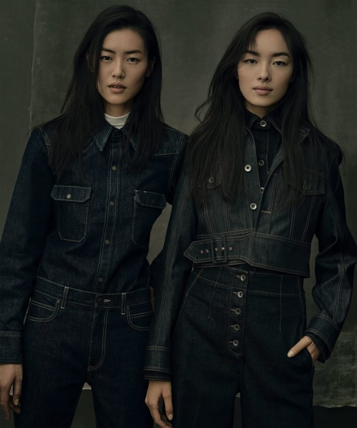 Liu Wen, Fei Fei Sun by Annie Leibovitz For American Vogue September 2017