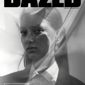 Sara Grace Wallerstedt Covers Dazed Magazine Fall 2017