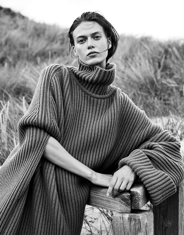 Tess Hellfeuer by Mikael Schulz for Elle Germany September 2017