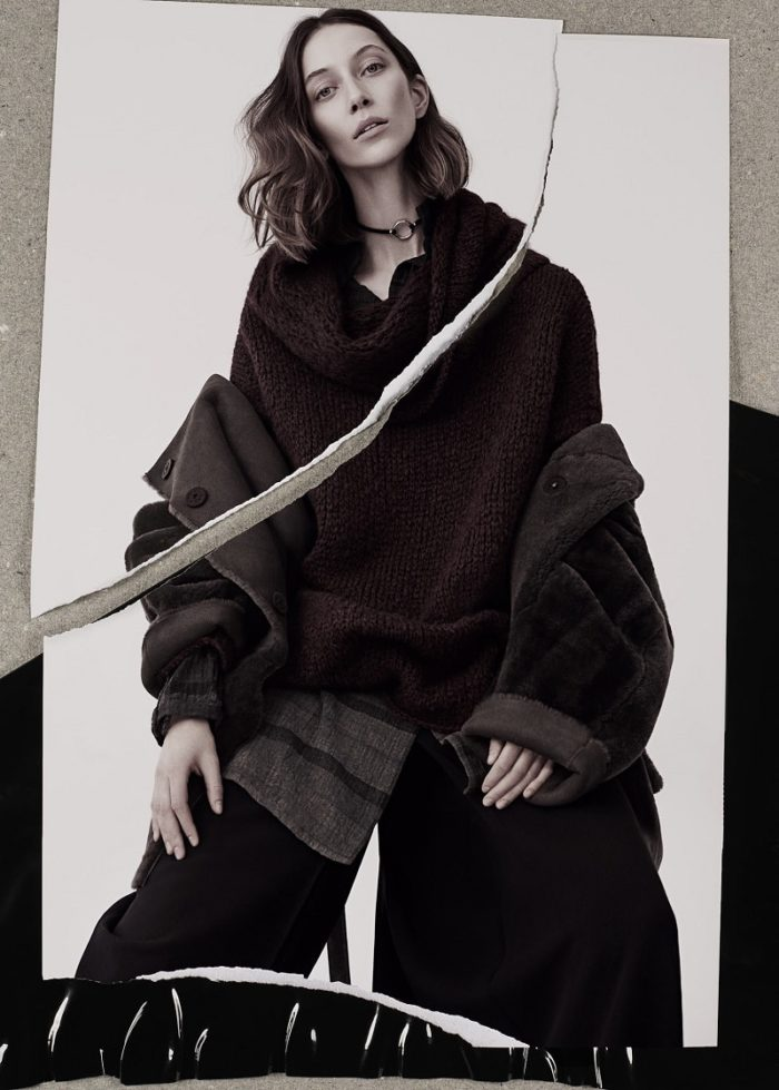 Alana Zimmer by Alexx & Anton for Annette Gortz Fall-Winter 2017 Ad Campaign