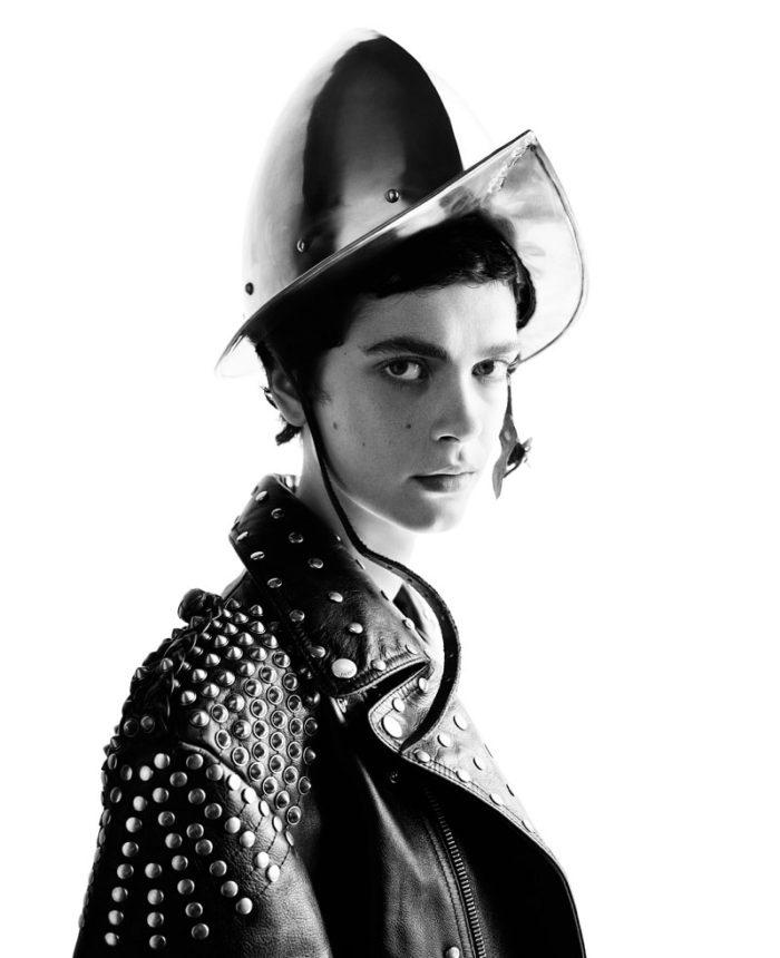 Amandine Renard by Willy Vanderperre for Vogue Italia September 2017