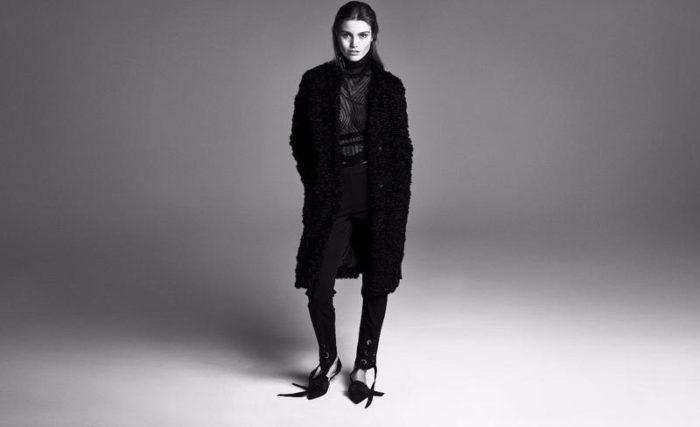 Luna Bijl by Andreas Sjodin for H&M Season Fall-Winter 2017 Ad Campaign
