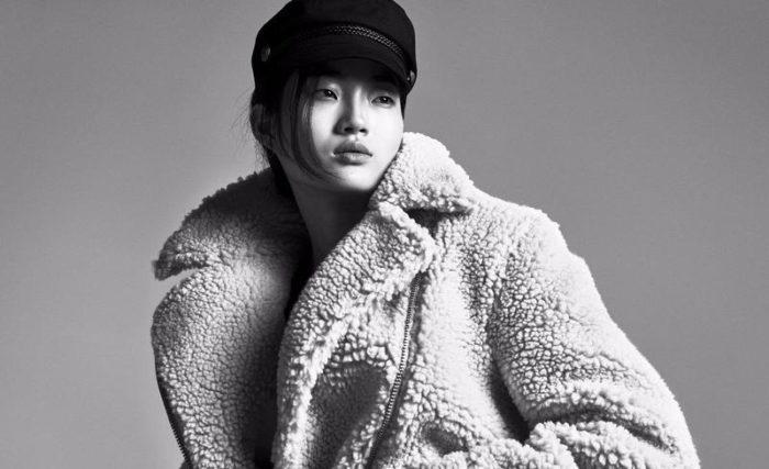 Hyun Ji Shin by Andreas Sjodin for H&M Season Fall-Winter 2017 Ad Campaign